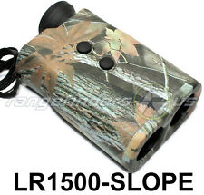 HUNTING LASER RANGE FINDER CAMO LR1500-SLOPE 8x30mm ANGLE-COMPENSATION + SCAN