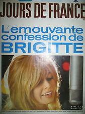 JOURS DE FRANCE N° 480 BRIGITTE BARDOT GRECO SAGAN HARDY VALERIE LAGRANGE 1964