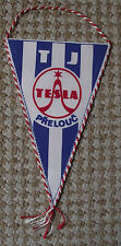 Tesla Electronics Prelouc Radio Receivers Stereo Devices Firm Pennant Flag