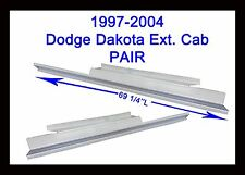 1997 1998 1999 2000-2004 Dodge Dakota Extended Cab 2Door Rocker Panels New Pair!