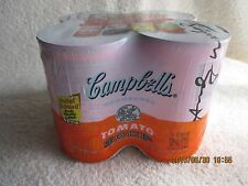 Andy Warhol Campbell's Tomato Soup Limited Edition 4 Cans Original WrapPristine