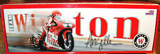 1999 Angelle Seeling Winston 1/9th scale Pro stock Bike & Display Case Action