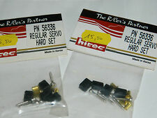 LOT 2 new HITEC PN 56336 PN56336 regular SERVO hard SET rc car FIXATION