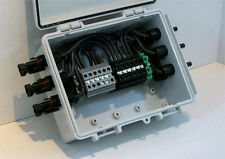 Solar Combiner Box - 6-String PV Panel Power Combiner - Pre-wired