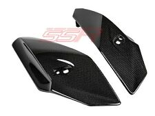 BMW S1000R Side Headlight Headlamp Cover Panel Fairing Set Carbon Fiber Fibre