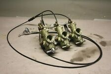 Triumph Motorcycle Trident T150 Carburetors and Manifold