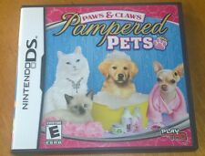 Nintendo DS Paws & Claws Pampered Pets in case with manual mint condition