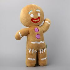 Large Size 48 CM Shrek Gingerbread Man Bigheadz Stuffed Plush Toys Cartoon Soft