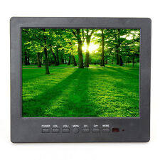 "Portable L8009 8"" TFT LCD Color TV, AV RCA VGA Input For PC Monitor, CCTV Camera"