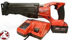 Milwaukee 2720-21 M18 FUEL Brushless Sawzall Cordless Reciprocating Saw Kit