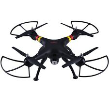 Black Syma X8W FPV 2.4Ghz RC Qucopter Drone UVA 2MP Wifi Camera RTF US Seller