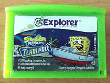 Leapfrog Explorer LeapPad 1 2 3 Ultra Platinum - Spongebob - Clam Prix - Game