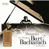 CD TRIPLE ALBUM - Burt Bacharach - Magic Moments (The Definitive Collection