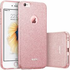 Apple iPhone 7 Bling Case Sparkle Tough Protector Cover Rose Gold Fashion Design