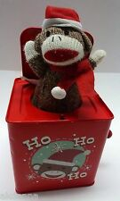 Monkey Town USA Jack In The Box Christmas plays Deck The Halls