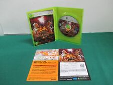 Xbox360 -- KINGDOM UNDER FIRE CIRCLE OF DOOM -- JAPAN. Clean & Work fully. 50294
