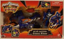Power Rangers Jungle Fury - Blue Jaguar Strike Rider Missile Firing Cycle (MISB)