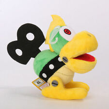 "Super Mario Bros Mecha Bowser Koopa 6"" Soft Plush Stuffed Figure Doll Toy Gifts"