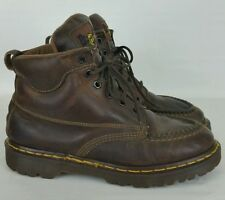 Dr Martens 8058 Brown Leather Hiking Walking Boots UK 7 Mens 8 Womens 9 England