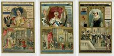 Full Set, Liebig (OXO) S491, Famous Princesses (X6) 1896 VG-EX (Gu672-322)