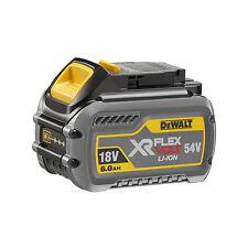 DEWALT DCB546-XJ 18V/54V XR FLEXVOLT 6.0AH LI-ION BATTERY PACK FLEX VOLT
