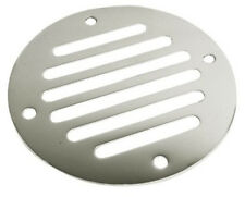 "Stainless Steel Drain Cover - 3 1/4"" Diameter - Vent Area 2.11 Sq In - 331600-1"