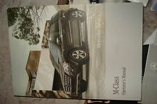 2010 MERCEDES BENZ ML 450 /  M CLASS OWNERS MANUAL PACKET SET + COMAND MANUAL