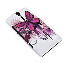 Design No.3 Back Cover Handy Hard Case Hülle Schale für Sony Xperia S - Lt26i