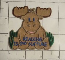 Reading is 2nd Nature Patch