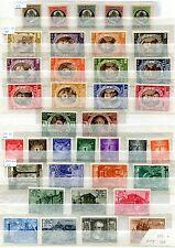 VATIKAN 1944-1975 POSTFRISCH+ GEST SAMMLUNG + EXTRAS 48 VOLLE SEITEN(U6398d