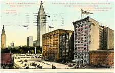 NEW YORK CITY - Hotel Arlington and Surrounding Buildings 25th Street, Broadway