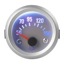 50 - 150 Celsius Degree Oil Temperature Blue LED Auto Car SUV Meter Gauge 52mm