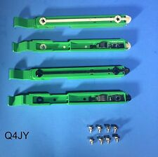 4-Pack: Dell Dimension/Optiplex PC Hard Drive Mounting Rails 87VYR Bracket Clip