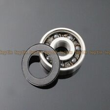 [2 pcs] 15268-2RSc 15*26*8 Hybrid Ceramic Si3N4 Ball Bearing 15x26x8 mm