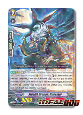 Cardfight Vanguard x 4 Stealth Dragon, Runestar - G-BT03/033EN - R Mint