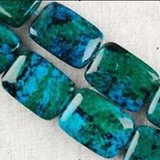 10X14mm Azurite Chrysocolla Gemstones Loose Beads 15'' AAA+++