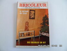 LE BRICOLEUR N°69 1971 LE LIEGE TABLE BASSE MEUBLES EN KIT JARDIN DE SALON   J38
