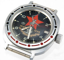 RARE VOSTOK 50 years anniversary 1945 USSR Army Victory WWII MOTHERLAND RED STAR