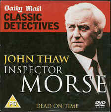 John Thaw - INSPECTOR MORSE - DEAD ON TIME - DVD