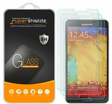 3X Supershieldz Tempered Glass Screen Protector Saver For Samsung Galaxy Note 3