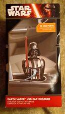 Disney Star Wars Darth Vader USB Car Charger w/ 2 USB Ports
