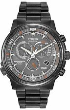 Citizen Eco-Drive Men's AT4117-56H Nighthawk A-T Black Case Grey Dial Watch