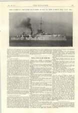 1915 German Cruiser Blucher Sunk North Sea Stanton Ironworks Ropeway