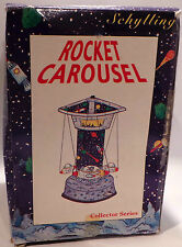TIN PLATE : ROCKET CAROUSEL TIN PLATE MODEL MADE BY SCHYLLING