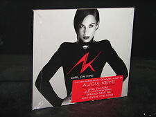 Girl on Fire [Digipak] by Alicia Keys (CD, Nov-2012, RCA)  ***NEW SEALED***