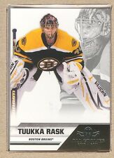 Tuukka Rask #9 2010-11 Panini All Goalies Up Close