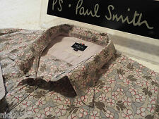 """PAUL SMITH Mens Shirt �� Size XL (CHEST 46"""") �� RRP £95+�� FANTASTICALLY FLORAL"""