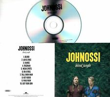 JOHNOSSI Blood Jungle 2017 UK 10-trk numbered promo test CD band photo sleeve