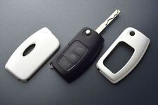 Ford Car Remote Flip Key Cover Case Skin Shell Cap Fob Protection ABS White 05-.