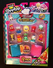 Season 6 Shopkins Chef Club 12 Pack Pictured Carmel Topping Sweet Corn